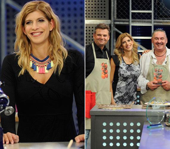 A TV Paprika Sztárséf című műsorának döntőjében is megmaradt a nőies, kiegészítőkkel feldobott ruháknál. A sztárokat felvonultató vetélkedőt egyébként Faragó András Topy színművész és kuktája, R. Kárpáti Péter nyerte.