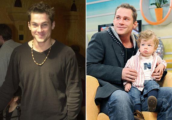 A színész imádja kisfiát, ha a pici közelében, van büszke apukává alakul át.