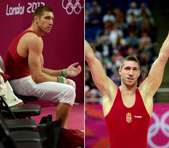 A 27 éves sportoló lólengésben szerezte meg Magyarország harmadik aranyérmét Londonban.