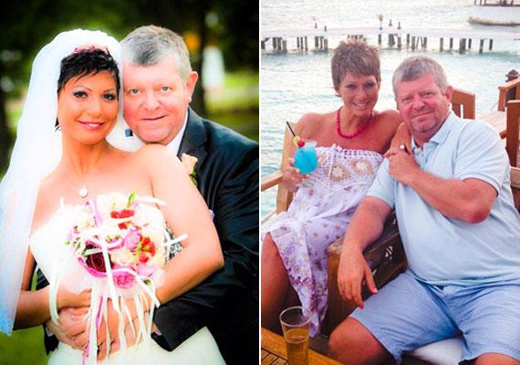 Besenczi Árpád és 15 évvel fiatalabb felesége, Nelly 2014 áprilisában házasodott össze. Négy hónapos ismeretség után a menyasszony már várandósan állt oltár elé.