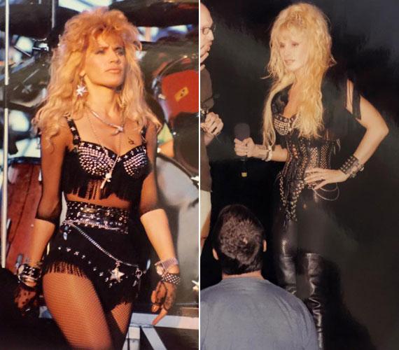 1990-ben a Pokolgép együttessel való közös munka gyümölcseként jelent meg első albuma Metal Lady címmel - ez a név rajta is ragadt. Második lemezét az Ossiannal készítette.