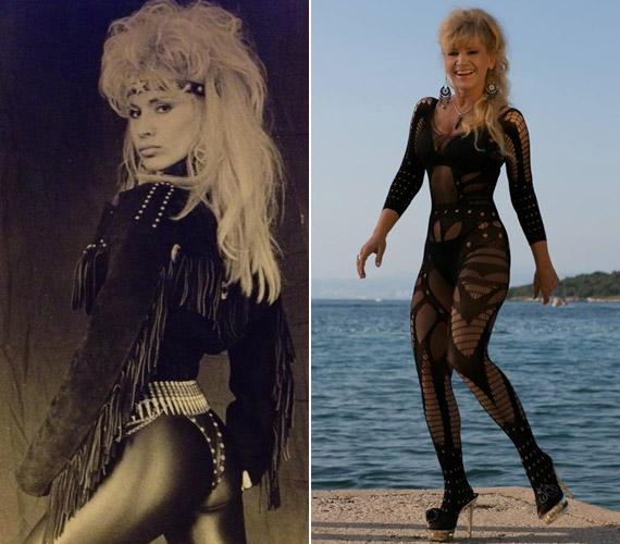 A Metal Ladyként is ismert sztárra gyakran adtak szexi bőrruhát is. Bíró Icának 2014 őszén sem kellett szégyenkeznie alakja miatt, dögös overallban is fényképezték a horvát tengerparton.