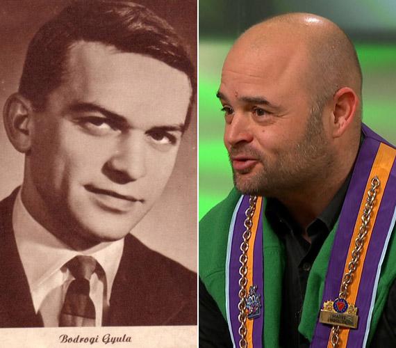 Ha egymás mellé tesszük a fiatal Bodrogi Gyula fényképét és fia, Bodrogi Ádám legfrissebb fotóját, ugyanazokat az arcvonásokat fedezhetjük fel mindkét képen.