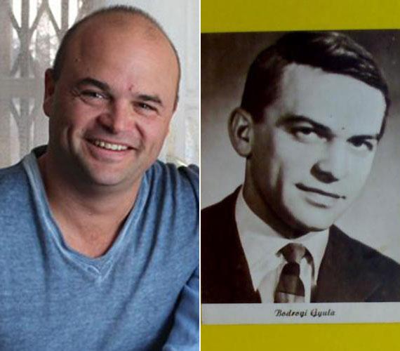Bodrogi Gyula ifjúkori fényképével összevetve látszik igazán a hasonlóság.