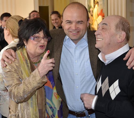 Bodrogi Gyula második felesége Voith Ági Jászai Mari-díjas színésznő. Bár már több mint 30 éve nem élnek együtt, máig szoros kapcsolatban vannak egymással.