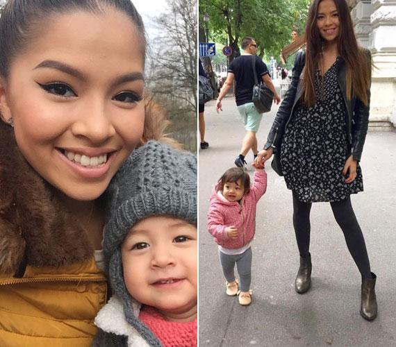 A félig magyar, félig vietnami származású, fiatal anyuka tavaly indította el babacipőkkel foglalkozó vállalkozását. A kis mokaszinoknak a virgonc kis Szofi az egyik legjobb tesztelője.