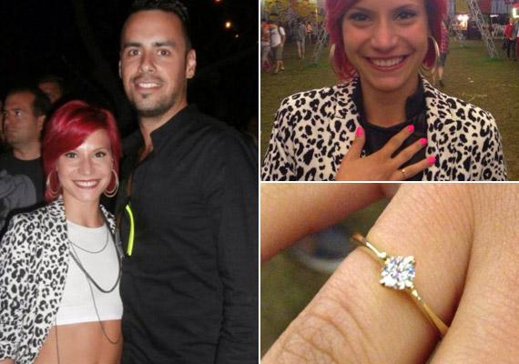 Antal Tímea, a 2012-es X-Faktor második helyezettje 2014. augusztus 20-án a közösségi oldalán posztolt képeket az eljegyzési gyűrűjéről és párjáról, aki másfél év együttlét után kérte meg a kezét.