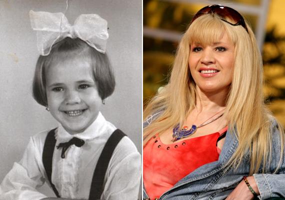 Bíró Icának csupán a szeme nem változott gyermekkora óta. A tündéri, mosolygós kislányból felnőve igazi bombanő vált.