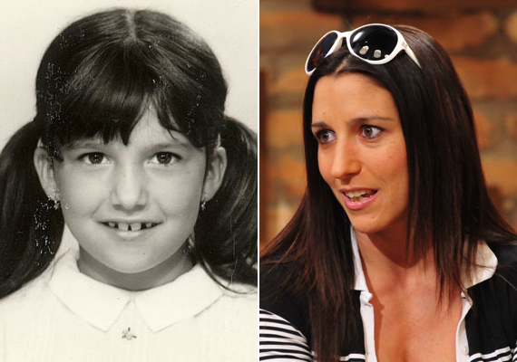 A 34 éves Rubint Réka aranyos, copfos kislány volt, akiért valószínűleg már az óvodában rajongtak a fiúk. Felnőve az ország talán legismertebb személyi edzőjévé vált.