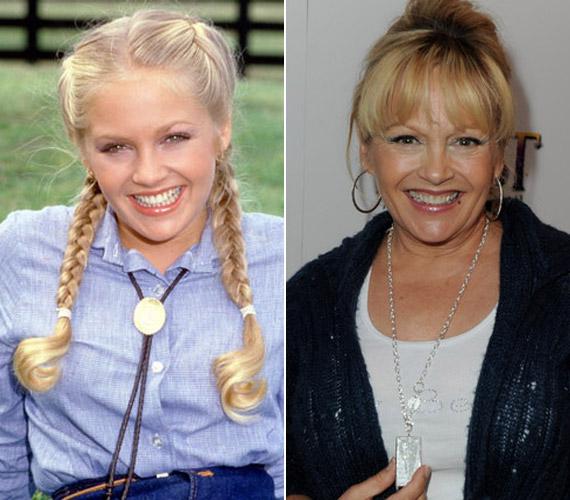 Ugyan a Dallas indulása óta több mint harminc év telt el, a szőke színésznő mosolya a régi.
