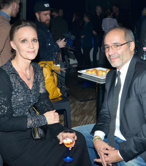Nagy-Kálózy Eszter és Rudolf Péter  A legjobb színész kategória győztese színésznő feleségével vett részt a 15. Cometen, akivel már 26 év él boldog házasságban.