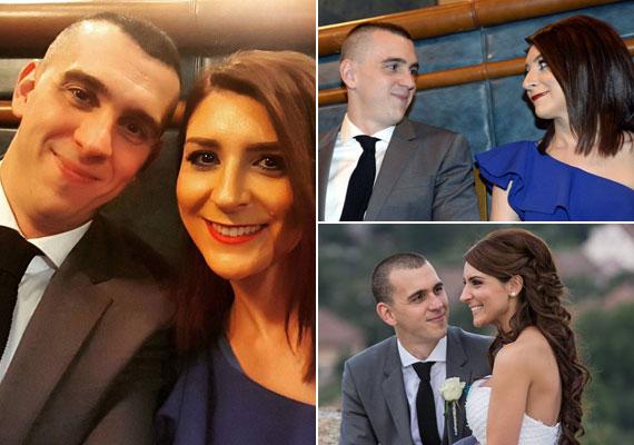 Cseh Laci felesége, Dia egy királykék, aszimmetrikus ruhában kísérte el férjét az Év sportolója gálára. Az úszó tavaly nyáron nősült meg.