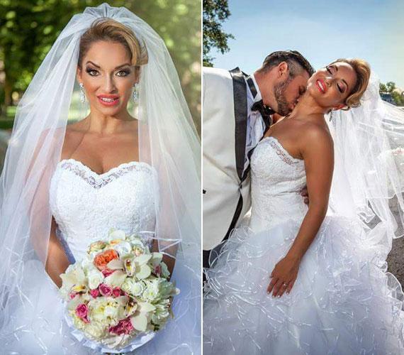 Völgyi Zsuzsi augusztus 1-jén a Héjja Szalon gyönyörű esküvői ruhájában ment férjhez. A 34 éves énekesnő és Gábor 15 évvel ezelőtt már jártak egymással, ám véget ért a kapcsolatuk. Egy éve találkoztak újra, és kiderült, hogy még mindig szerelmesek egymásba.