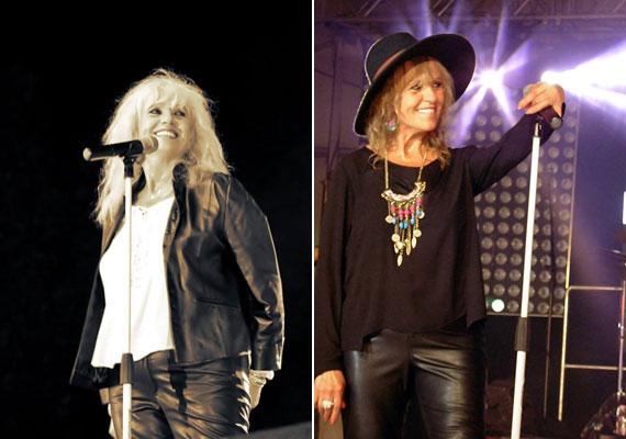 Az énekesnőnek elég pár kilót leadnia, máris meglátszik az alakján. A két fotó között pár hónap telt el.
