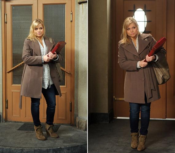 Színésznőként is kipróbálta már magát: néhány epizód erejéig feltűnt a Barátok közt című sorozatban, egy némettanárnőt alakítva.