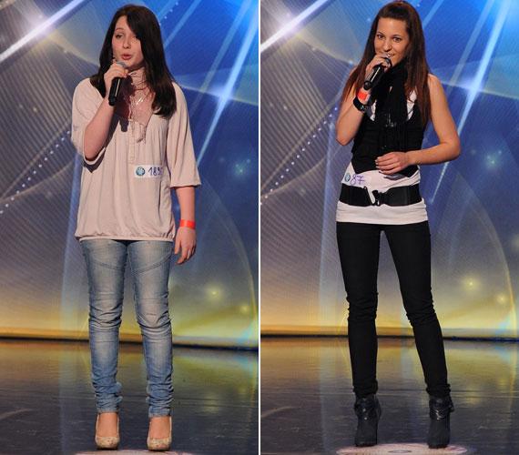 Két fiatal énekesnőnek, Negyela Bernadettnek és Szirota Jennifernek is össze kellett mérnie a tehetségét.