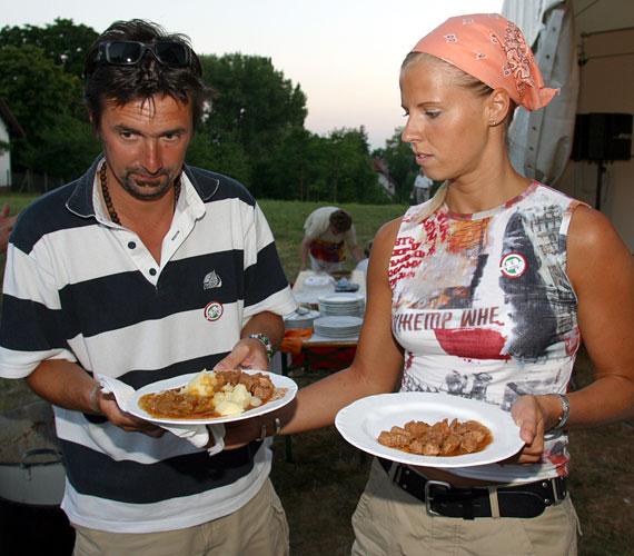 Csiszár Jenő és Ujvári Eszter boldogsága 15 éve töretlen.