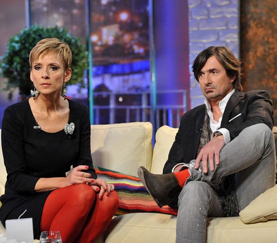 A műsorvezető nemrég Jakupcsek Gabriellával az MTV DTK Show című műsorában D. Tóth Kriszta vendége volt.
