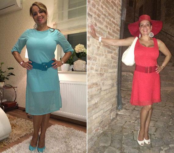 Csisztu Zsuzsa a VideoTube Awards csütörtök esti rendezvényén talpig türkizben bűvölt el mindenkit, olaszországi nyaralásuk záró estéjén Sarnanóban pedig dívaként ragyogott az éjszakában.