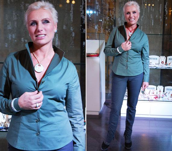 Tallós Rita színésznőnél tavaly ősszel diagnosztizáltak mellrákot. Kemoterápiát és sugárkezelést is kapott, mára már jól van, a haja is kezd visszanőni. Pár héten belül ez volt a második divatbemutató, amire felkérték.