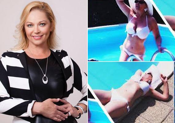 Csomor Csilla 2015 nyarán olyan bikinis alakot villantott, hogy mindenki elámult. Nem kérdés, az 50 éves színésznő dögösebb, mint valaha.