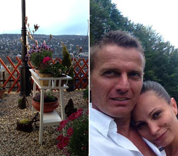 Rékasi Károly és Pikali Gerda nem akármilyen házban kezdtek új életet egymással. Ha a kilátás ilyen, milyen lehet a házbelső?