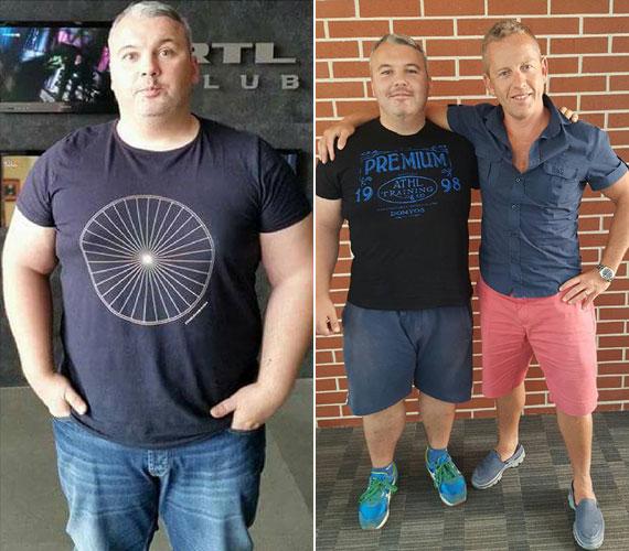 Dombóvári István 3 hónap alatt 23 kilótól szabadult meg. A Showder Klubban megismert 37 éves humoristát, akit ősztől Sebestyén Balázs oldalán az RTL Klub új tehetségkutató műsorának, a Hungary's Got Talentnek a műsorvezetőjeként láthatják a nézők, Schobert Norbi segítette a fogyásban.