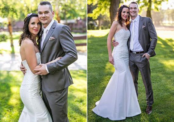 Pordán Petra és Balogh Tamás, a 89.5 Music FM két műsorvezetője augusztus 29-én élő adásban házasodott össze. Még több sztár nyári esküvői fotója itt »
