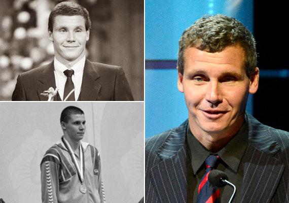 Darnyi Tamás 1988-ban Szöulból és 1992-ben Barcelonából is két-két arannyal tért haza. A 48 éves sztár ma úszóiskolát vezet.