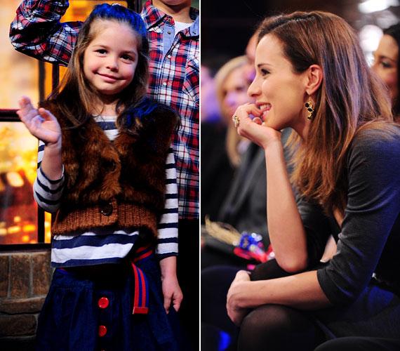 A műsorvezető ritkán mutatja meg gyermekeit, mivel igyekszik óvni őket a nyilvánosságtól, de azért néha ő is kivételt tesz. A tévénézők például a TV2 Frizbi című műsorában is láthatták kislányát.