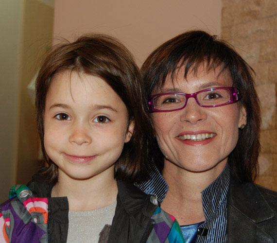 Az m1 műsorvezetője, Krizsó Szilvia egy kislány boldog anyukája, Luca már hatéves.