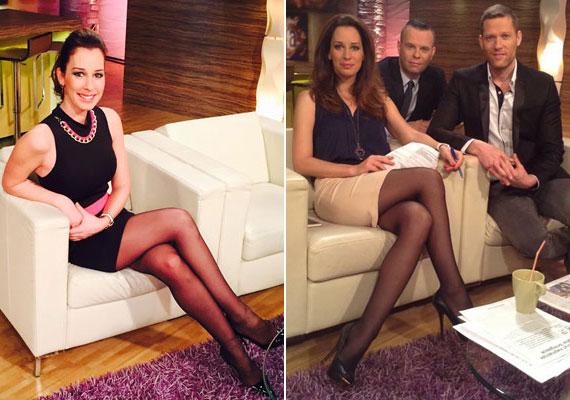 Februárban a névnapját ünnepelte a bal oldali miniszoknyában, áprilisban szintén számtalan bókot kapott a Facebookon, amikor bézs szoknyát viselte.