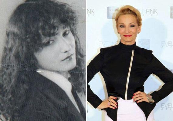 Ezen a több mint 30 évvel ezelőtti fotón rá sem ismertünk Keresztes Ildikóra. Az énekesnő haja akkor még nagyon dús, göndör és sötét volt. Erdélyben tette le az érettségit, majd ezután költözött fel Budapestre.