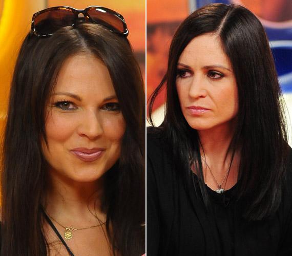 Palotás Petra és Pokrivtsák Mónika egykor az RTL Klub műsorvezetői voltak. Mióta utóbbi is megnövesztette a haját, nagyon hasonlítanak egymásra.