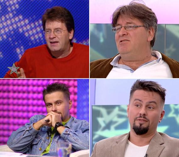 Az első széria zsűritagja volt Bakáts Tibor és Pierrot is, akik szerint a Megasztár első szériája hiánypótló műsor volt, ezért emlékszik rá a mai napig mindenki.