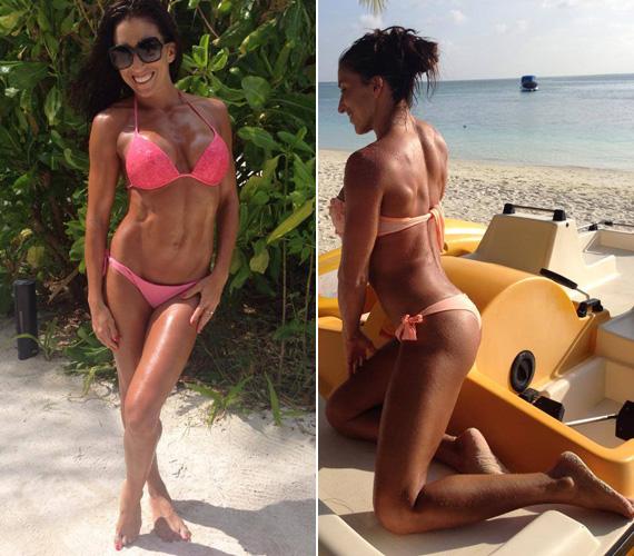 Rubint Réka március elején járt Törökországban, ahol naptárához férje készített róla bikinis képeket. Külföldről is rendszeresen posztolt képeket a Facebook-családjának. Még több kép itt »