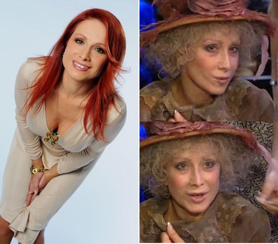 A szexi színésznő évtizedeket öregített magán a musicalben játszott szerepe kedvéért.