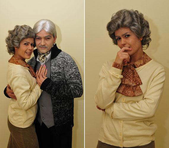 A TV2 népszerű sorozatában egy nagymamakorú tánctanárnőt alakított.