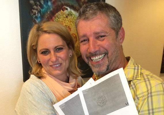 TV2 gasztro magazinjainak házigazdája, Sági Szilárd és felesége sikerrel járt a lombikprogrammal, még az is lehet, hogy ikreik lesznek.