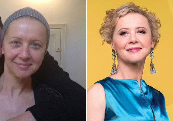 Eszenyi Enikő színésznő, a Vígszínház 54 éves igazgatója smink nélkül jó pár évet letagadhatna, pláne, ha laza szerelést húz fel.