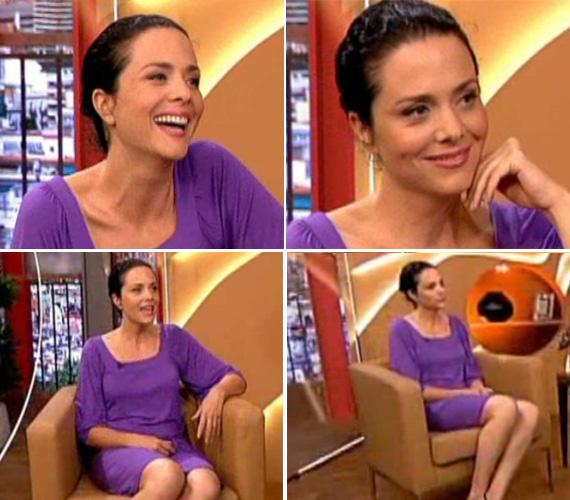 A napokban az RTL Klub 8:08 - Minden reggel című műsorában mesélt új életformájáról. Egy egyszerű, lila nyári ruhát viselt, melynek élénk színe feldobta megjelenését és tovább erősítette pozitív kisugárzását.