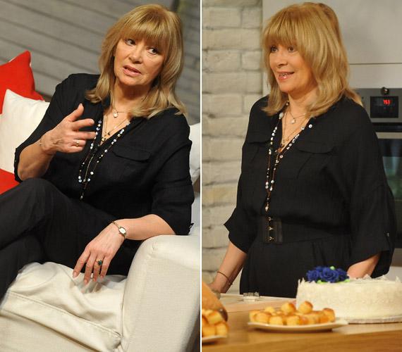 Bencze Ilona Jászai Mari-díjas magyar színésznő is a jubileumi adás vendége volt. Hihetetlen, de novemberben ő is hatosokat kapott a tortájára, mégpedig kettőt.