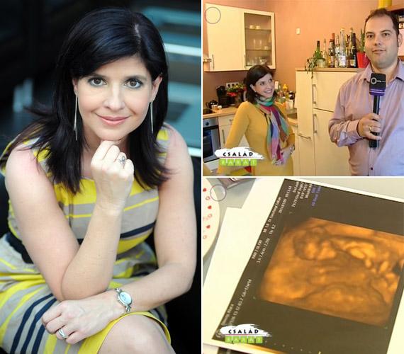 Dióssy Klári az eddigi vizsgálatok alapján kislányt hord a szíve alatt, de azt mondta, tévés párjával úgy látják, mindegy, milyen nemű a baba, csak egészséges legyen.