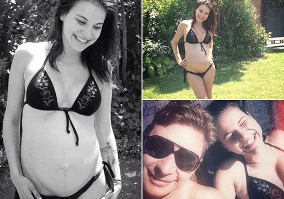 Nádai Anikó nyolc hónapos terhes volt, amikor tavaly a nagy melegben egy bikinis, sokat mutató fotót osztott meg Facebook-oldalán. 2015 augusztusában született meg Patrik, aki azóta a műsorvezető szeme fénye.