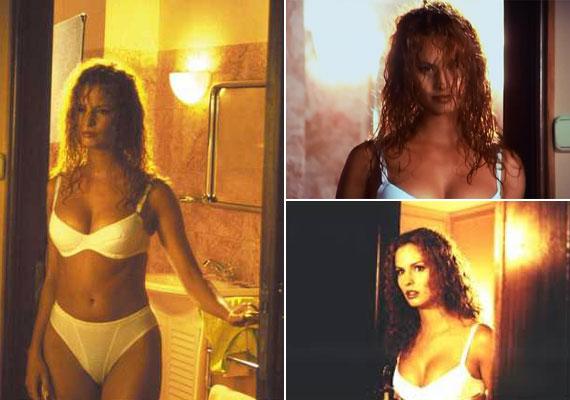 Dobó Katát már láthattuk fehérneműben: az 1997-es A miniszter félrelép című vígjátékkal szexszimbólummá avanzsált. A képeket elnézve mintha mit sem változott volna.