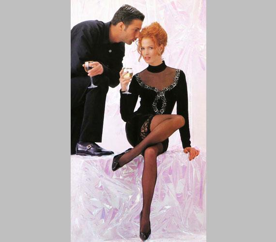 Dobó Kata egy 1996-os divatmagazinban - egy évvel korábban már láthatta a közönség az Éretlenek című sorozatban, de az igazi ismertséget az 1997-es A miniszter félrelép című vígjáték hozta meg számára, ami szexbombává avatta.