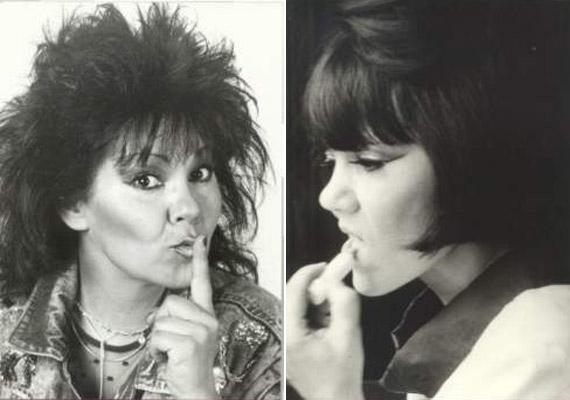 A vadóc énekesnő 1980-ban csatlakozott a Hungáriához, majd három év múlva megalakult a Dolly Roll.