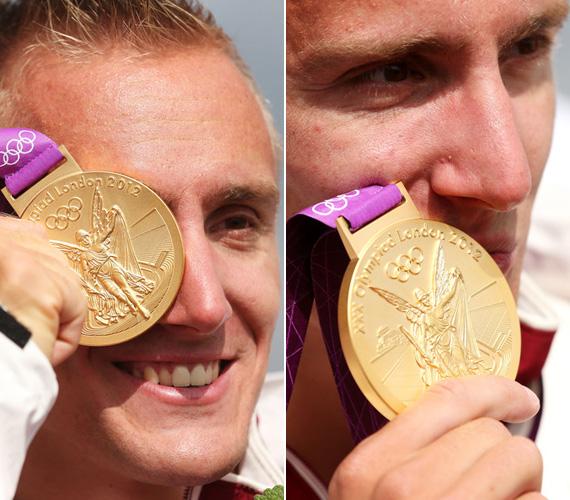 A 2012-es Eb-n, Zágrábban 1000 méteres páros kajakban első lett a 36 éves Kökény Rolanddal. A bravúrt a londoni olimpián is megismételték Dorney-tavon.