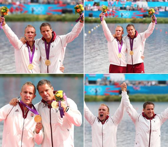Dombi Rudolf már az első olimpiáján aranyérmet szerzett, társa, Kökény Roland viszont harmadik ötkarikás megmérettetésén állhatott a dobogó legfelső fokára.