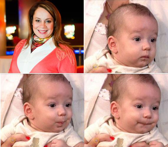 Csisztu Zsuzsa március 4-én adott életet második kisfiának. A kis Adrián négyhónapos korában az RTL Klub reggeli műsorában vendégeskedett idén júliusban.